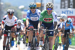 May 24, 2018 - Lida, Nagano, Japan - Slovenian rider Grega Bole from Bahrain - Merida Team finishes on the fourth place in Minami Shinshu stage, 123.6km on Shimohisakata Circuit race, the fifth stage of Tour of Japan 2018. .The winner, French man Thomas Lebas takes the Race Leader Green Jersey with three stages to go..On Thursday, May 24, 2018, in Lida, Nagano Prefecture, Japan. (Credit Image: © Artur Widak/NurPhoto via ZUMA Press)