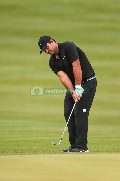 March 24, 2018 - Austin, TX, U.S. - AUSTIN, TX - MARCH 24: Patrick Reed chips during the Round of 16 for the WGC-Dell Technologies Match Play on March 24, 2018 at Austin Country Club in Austin, TX. (Photo by Daniel Dunn/Icon Sportswire) (Credit Image: © Daniel Dunn/Icon SMI via ZUMA Press)