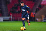 Michael Klass of Southend United (20) in action during the EFL Sky Bet League 1 match between Doncaster Rovers and Southend United at the Keepmoat Stadium, Doncaster, England on 12 February 2019.