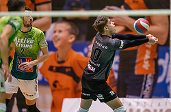 Rob Jorna of Orion in action during the league match between Active Living Orion vs. Amysoft Lycurgus on March 20, 2021 in Doetinchem.
