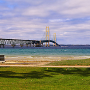 """Viewing Mackinac Bridge""<br />