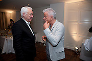 MICHAEL CRAIG-MARTIN; NICKY HASLAM, Book launch party for the paperback of Nicky Haslam's book 'Sheer Opulence', at The Westbury Hotel. London. 21 April 2010