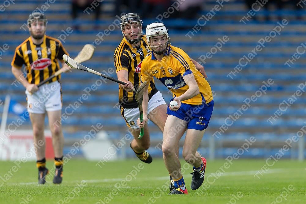 Clare's Ryan Taylor V Kilkenny's Jason Cleere