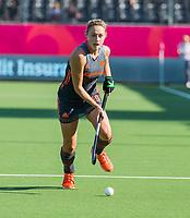 ANTWERPEN - Marijn Veen (Ned) tijdens de finale  dames  Nederland-Duitsland  (2-0) bij het Europees kampioenschap hockey.   Nederland prolongeert de titel. COPYRIGHT  KOEN SUYK