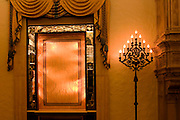 The Gold Room at the Breakers Hotel in Palm Beach, Florida.