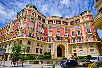 France, Pyrénées-Atlantiques (64), Pays Basque, Biarritz, avenue Reine Victoria // France, Pyrénées-Atlantiques (64), Basque Country, Biarritz, avenue Reine Victoria