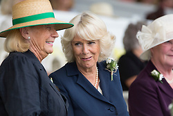 © Licensed to London News Pictures. 14/07/2015. Harrogate, UK. Prince Charles & Camilla have visited the 157th Great Yorkshire Show that opened today in Harrogate. Photo credit : Andrew McCaren/LNP
