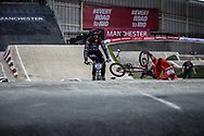 #148 (VAN GENDT Twan) NED at the 2016 UCI BMX Supercross World Cup in Manchester, United Kingdom<br /> <br /> A high res version of this image can be purchased for editorial, advertising and social media use on CraigDutton.com<br /> <br /> http://www.craigdutton.com/library/index.php?module=media&pId=100&category=gallery/cycling/bmx/SXWC_Manchester_2016