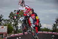 #192 (VAN DER BURG Dave) NED at the 2016 UCI BMX Supercross World Cup in Santiago del Estero, Argentina