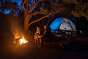 We camped out on the north side, which has a great and often empty campsite. Sitting by the fire is always a blast.
