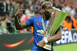 24-05-2017 SWE: Final Europa League AFC Ajax - Manchester United, Stockholm<br /> Finale Europa League tussen Ajax en Manchester United in het Friends Arena te Stockholm / Paul Pogba (Manchester)