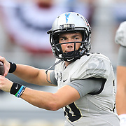 ORLANDO, FL - NOVEMBER 11: McKenzie Milton #10 of the UCF Knightsduring a NCAA football game between the University of Connecticut Huskies and the UCF Knights on November 11, 2017 in Orlando, Florida. (Photo by Alex Menendez/Getty Images) *** Local Caption *** McKenzie Milton