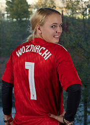 LIVERPOOL, ENGLAND - Sunday, November 7, 2010: Women's World No.1 tennis player Caroline Wozniacki in Liverpool to watch the Liverpool FC take on Chelsea. Caroline is a two-time champion of the Liverpool International Tennis Tournament. For more information visit www.liverpooltennis.co.uk (Pic by: David Rawcliffe/Propaganda)