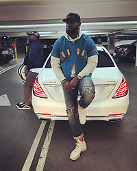 """LeBron James releases a photo on Instagram with the following caption: """"On the lookout wit my woe @teamswish for  haters that don't wanna see you shine. They come in all shapes, colors and sizes so be aware! Put on your blinders, focus and push towards inspiring, greatness and happiness! If they don't bring energy towards you, don't be around them. #livelaughlove\ud83d\ude01\ud83e\udd23\u2764\ufe0f #striveforgreatness\ud83d\ude80"""". Photo Credit: Instagram *** No USA Distribution *** For Editorial Use Only *** Not to be Published in Books or Photo Books ***  Please note: Fees charged by the agency are for the agency's services only, and do not, nor are they intended to, convey to the user any ownership of Copyright or License in the material. The agency does not claim any ownership including but not limited to Copyright or License in the attached material. By publishing this material you expressly agree to indemnify and to hold the agency and its directors, shareholders and employees harmless from any loss, claims, damages, demands, expenses (including legal fees), or any causes of action or allegation against the agency arising out of or connected in any way with publication of the material."""