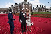 RUPERT MURDOCH; JERRY HALL, , Press view of the 2016 RHS  Chelsea Flower Show,  London.