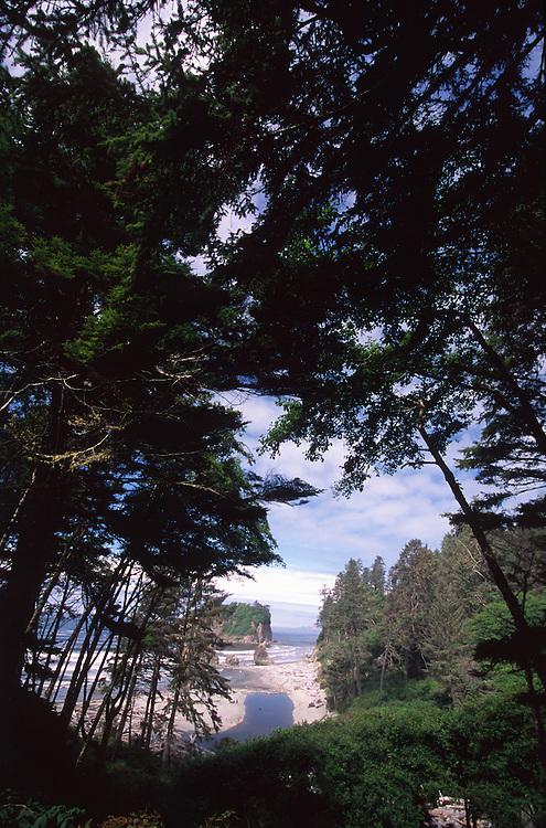 Ruby Beach, Olympic National Park, Washington, US