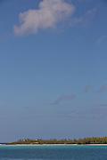 View of Eleuthera Island, The Bahamas.