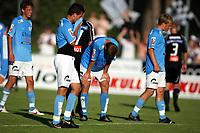 Fotball Adeccoliga 1 divisjon <br />Sandnes Ulf - Odd Grenland 270708<br /><br />Foto: Sigbjørn Andreas Hofsmo, Digitalsport<br /><br />  Andreas Westlye