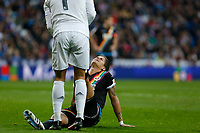 Rayo Vallecano´s Ze Castro during 2015-16 La Liga match between Real Madrid and Rayo Vallecano at Santiago Bernabeu stadium in Madrid, Spain. December 20, 2015. (ALTERPHOTOS/Victor Blanco)