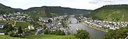 Mosel / Moezel is een wijnstreek in Duitsland rond de rivieren de Moezel<br /> <br /> Mosel / Moselle is a wine region in Germany around the rivers Moselle<br /> <br /> Op de foto / On the photo: Cochem  een stadje aan de Moezel in Duitsland.De stad is vooral bekend als een toeristisch plaatsje dat gedomineerd wordt door het bergslot. De burcht van Cochem werd in de 12e à 13e eeuw gebouwd en diende als bewaking over de stad en de Moezel tegen aanvallen.  /////   Cochem, a town on the Mosel Duitsland.De city is best known as a tourist resort dominated by the mountain castle. The Castle of Cochem was built in the 12th at 13th century and served as a guard over the town and the Moselle against attacks.