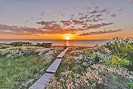 Boardwalk, Napeague Harbor, Amagansett, Long Island, New York