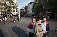 Amsterdam, Netherlands in summer.