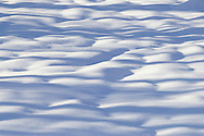 Chester, New York - Mounds of snow in a field at Goosepond Mountain State Park on March 9, 2013.