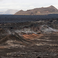 """According to """"Wikipedia"""" - Krafla is a caldera of about 10 km in diameter with a 90 km long fissure zone, in the north of Iceland in the Mývatn region. Its highest peak reaches up to 818 m and it is 2 km in depth. There have been 29 reported eruptions in recorded history."""