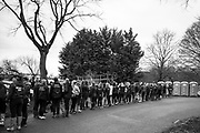 """London. United Kingdom,  """"Queueing for the Loo"""" before boating for the 2018 Women's Head of the River Race.  location Barnes Bridge, Championship Course, Putney to Mortlake. River Thames, <br /> <br /> Saturday   10/03/2018<br /> <br /> [Mandatory Credit:Peter SPURRIER Intersport Images]<br /> <br /> Leica Camera AG  M9 Digital Camera  1/60 sec. 50 mm f. 160 ISO.  17.5MB"""