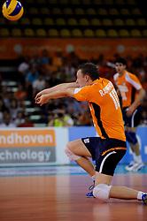 09-07-2010 VOLLEYBAL: WLV NEDERLAND - ZUID KOREA: EINDHOVEN<br /> Nederland verslaat Zuid Korea met 3-1 / Jeroen Rauwerdink<br /> ©2010-WWW.FOTOHOOGENDOORN.NL