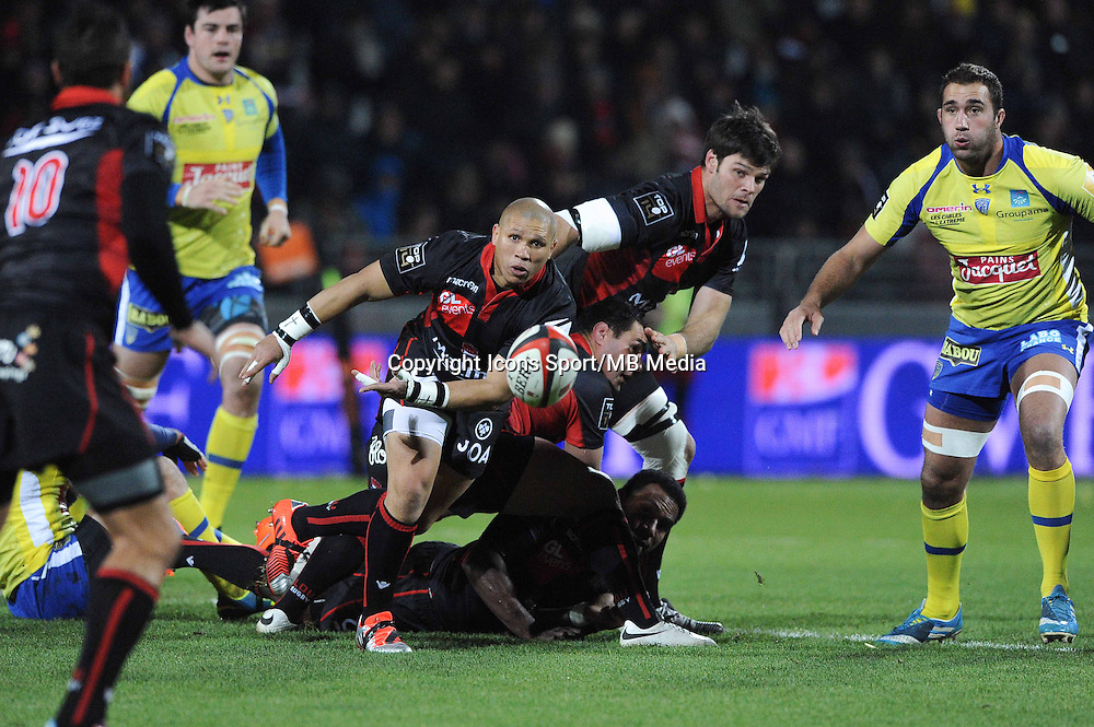 Enrico Januarie - 28.12.2014 - Lyon Olympique / Clermont - 14eme journee de Top 14 <br />