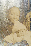 woman with baby toddler Japan ca 1930s