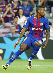 August 20, 2017 - Barcelona, Spain - Nelson Semedo during La Liga match between F.C. Barcelona v Real Betis Balompie, in Barcelona, on August 20, 2017. hoto: Joan Valls/Urbanandsport/Nurphoto  (Credit Image: © Urbanandsport/NurPhoto via ZUMA Press)
