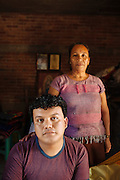 """Angelo Martinez Linares, 24, and her mother Ofelia Linares Sanchéz, 49, in Juchitán, Mexico.<br /> <br /> In Juchitán in the southern state of Oaxaca, Mexico, the world is not divided simply into gay and straight, the locals make room for a third category, whom they call """"muxes"""".<br /> <br /> Muxes are men who consider themselves women and live in a socially sanctioned netherworld between the two genders. """"Muxe"""" is a Zapotec word derived from the Spanish """"mujer"""" or woman; it is reserved for males who, from boyhood, have felt themselves drawn to living as a woman, anticipating roles set out for them by the community.<br /> <br /> They are considered hard workers that will forever stay by their mothers side, taking care for their families operating as mothers without children of their own.<br /> <br /> Not all muxes express they identities the same way. Some dress as women and take hormones to change their bodies. Others favor male clothes. What they share is that the community accepts them."""