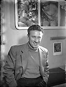 Joe Lynch - Actor.12/05/1954..Actor and singer Joe Lynch was born in born in Mallow, Co Cork, on July16, 1925,the son of an engine driver and a bookbinder. He excelled in sports at school, played the piano and tin whistle, learned Irish dancing and had a fine tenor voice..He went to school at Blackrock College, Dublin, after which he acted part-time at the Cork Opera House and trained at the Abbey Theatre, Dublin.By the time he joined the Radio Eireann Repertory Company in 1947, he was performing full-time. He acted, sang and compered radio programmes such as Young at Heart, The Balladmakers' Saturday Night and Living With Lynch (1954-58), his own comedy series.He combined his Radio Eireann work with impressive roles on stage; he played Bull McCabe in J.B. Keane's The Field, and Christy Mahon in The Playboy of the Western World.Moving on to fresh pastures in British TV, he starred as the Irish trouser-maker Patrick Kelly in 39 episodes of the comedy Never Mind the Quality, Feel the Width (1967-71) and in thesitcom Rule Britannia (1975), before playingone of Elsie Tanner's boyfriends in Coronation Street (1978-79)..Returning to Ireland, hetook the role of the scheming, cantankerous Dinny Byrne alonside Gabriel Byrne in the popular rural drama Bracken (1980-82), and was cast in the same role along with Mick Lally in the sequel, Glenroe (1983-2000).Joe Lynch married Marie Nutty in1952 (one son, one daughter, and one daughter deceased). He died Alicante, Spain on August 1, 2001.