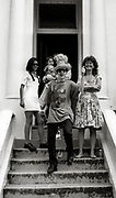 Joe Strummer  and family The Clash  Notting Hill Carnival London 1990