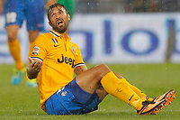 "Mirko Vucinic Juventus,<br /> Genova 24/8/2013<br /> Stadio ""Luigi Ferraris"" <br /> Football Calcio 2013/2014 Serie A <br /> Sampdoria - Juventus <br /> Foto Marco Bertorello Insidefoto"
