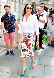 Lauren Silverman attending the X Factor photocall held at Somerset House, London.