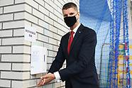 Minister edukacji Dariusz Piontkowski na inauguracji roku szkolnego