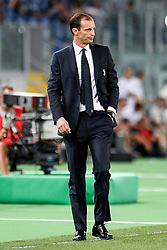 August 13, 2017 - Rome, Italy - Massimiliano Allegri manager of Juventus during the Italian Supercup Final match between Juventus and Lazio at Stadio Olimpico, Rome, Italy on 13 August 2017. (Credit Image: © Giuseppe Maffia/NurPhoto via ZUMA Press)