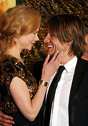 Nov. 25, 2008 - New York, New York, U.S. - NICOLE KIDMAN AND KEITH URBAN ARRIVING AT THE PREMIERE OF AUSTRALIA AT THE ZIEGFELD THEATER IN NEW YORK New York ON 11-24-2008.  -   2008.K60531HMC(Credit Image: © Henry McGee/ZUMAPRESS.com)