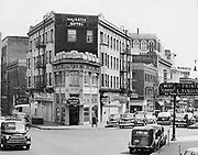 Y-490726A (detail). Majestic Hotel. West Burnside & Stark looking east. July 26, 1949