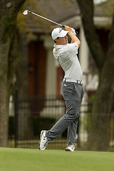 March 23, 2018 - Austin, TX, U.S. - AUSTIN, TX - MARCH 23:  M. Fitzpatrick hits an approach shot during the WGC-Dell Technologies Match Play Tournament on March 22, 2018, at the Austin Country Club in Austin, TX.  (Photo by David Buono/Icon Sportswire) (Credit Image: © David Buono/Icon SMI via ZUMA Press)