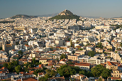 View from Parthenon, Acropolis, Athens, Greece