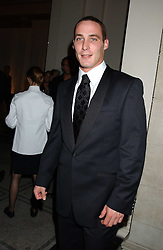 England cricketer SIMON JONES at the 2005 British Fashion Awards held at The V&A museum, London on 10th November 2005.<br /><br />NON EXCLUSIVE - WORLD RIGHTS