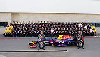 RED BULL team ambiance RICCIARDO Daniel (Aus) Red Bull Renault Rb10 ambiance portrait VETTEL Sebastian (Ger) Red Bull Renault Rb10 ambiance portrait    during the 2014 Formula One World Championship, United States of America Grand Prix from November 1st to 2nd 2014 in Austin, Texas, USA. Photo Frederic Le Floch / DPPI.