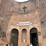 Santa Maria is one of Reom'es oldest chruches and is located around Termini in the Trastevere neighborhood.