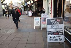 Black Friday, Norwich, 24 November 2017 UK
