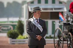 Theo Timmerman, (NED) - Driving Cones - Alltech FEI World Equestrian Games™ 2014 - Normandy, France.<br /> © Hippo Foto Team - Dirk Caremans<br /> 07/09/14