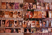 A photo display of some of the victims at the Kigali Memorial Centre for 1994 genocide in Rwanda. The centre on is on a site where 250,000 genocide victims were buried in mass graves. The centre opened in 2004 on the 10th Anniversary of the start of the genocide.